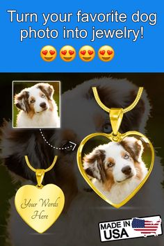 Turn your favorite dog photo into amazing jewelry! Pet Loss Gifts, Pet Gifts, Dog Lover Gifts, Dog Lovers, Pet Memorial Stones, Dog Memorial, Cool Gifts For Women, Animal Birthday, Dog Costumes