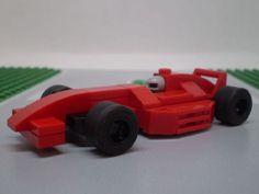 Mini LEGO Formula 1 Racecar: A LEGO® creation by Dylan Denton