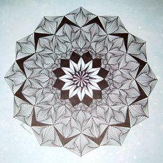zentangle | us this beautiful zentangle inspired mandala she entitled extreme ...
