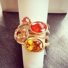 Orange stack at Gallery of Jewels - Noe Valley. Retailer Spotlight on Creative Business League