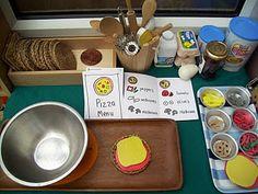Pizza Parlor--nice organization of materials