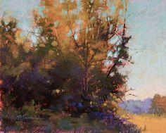 """Morning Glow"" - Original Fine Art for Sale - © Barbara Jaenicke Pastel Landscape, Abstract Landscape, Contemporary Landscape, Seascape Paintings, Landscape Paintings, Pastel Paintings, Oil Paintings, Expressive Art, Autumn Art"