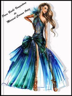 El Blog de Barbi Vengadora: Figurin de Moda(Nuevo Talento) by Marisol Corona