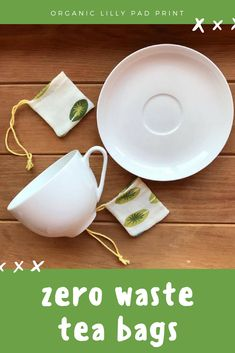 Reusable tea bags are a great way to reduce using plastic in your life - tea bags don't compost as they contain plastic. These organic cotton drawstring bags that can be filled with your favourite loose leaf tea then used as you would normally use a teabag. Would make a great gift for any tea lover! #tea #zerowaste #plasticfree #ad