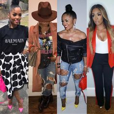 Just a few of my favorite looks from the last 2 weeks doesn't matter how I switch it up is always apart of my wardrobe shop PRESSEDATL. Black Girl Fashion, Cute Fashion, Look Fashion, Autumn Fashion, Fashion Outfits, Womens Fashion, Classy Outfits, Stylish Outfits, Fall Outfits
