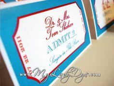 ab1bf4c59407c Old Rock Star Hollywood Movie Ticket Themed Escort by MyLadyDye
