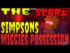 Simpsons Tree house of Horror XXVIII The Exor-Sis scare The Simpsons season 29 episode Treehouse of Horror special The Exor-Sis: scary ghost cartoon Magg. Real Life, Neon Signs, Youtube, Youtubers, Youtube Movies