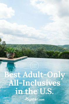 Here, we're taking a look at adult-only all-inclusive resort for a more mature, but no less fun respite. Whether you're interested in a lakeside getaway or a wellness retreat in the desert, we've got you covered. Note that all-inclusive packages in the U. Adult Only All Inclusive, All Inclusive Honeymoon, Best All Inclusive Resorts, Honeymoon Places, Honeymoon Ideas, All Inclusive Weekend Getaways, Belize Honeymoon, Affordable Honeymoon, Affordable Vacations