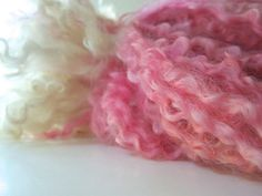 Ravelry: LauraSpinner's Rainbow Twist Handspun Wool Locks/Fleece