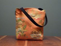 Small Tote Spice Island by GstudioStyle on Etsy, $65.00