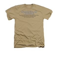 Murphy's Law Addition Adult Regular Fit Heather T-Shirt