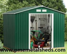 PME Sheds & Outdoor Storage - Metal Sheds and More / pmemetalsheds.com: How to Assemble A PME Metal Sheds Tool Kit Apex Ro...