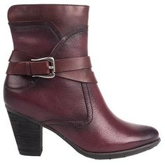 Women's Blondo Frederika Waterproof Ankle Boot Burgandy Leather Shoes.com