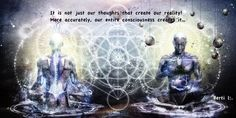 """The totality of what we are being is being expressed through ALL our BEING. Herein lies the problem when we try to manifest a particular reality; all too often the ego or small """"I"""" is trying to do it. In other words we are trying to make choices based on our conditioned behaviours, our hopes and desires or alternatively based on our worries and fears. This is not the right path to follow!"""