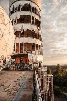 Teufelsberg Berlin by Kay Wiegand More information on #Berlin: visitBerlin.com