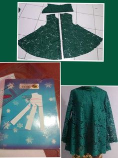 Prodigious Sewing Make Your Own Clothes Ideas Dress Sewing Patterns, Blouse Patterns, Clothing Patterns, Bodice Pattern, Sewing Blouses, Sewing Lessons, Pattern Drafting, Green Lace, Fashion Sewing