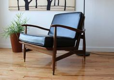 Danish Modern Lounge Chair. $280.00, via Etsy.