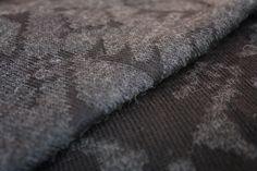 "Detail Cape ""Avestruz"" by Rosas. Designed by Sol Rosas. 100% Baby Alpaca"