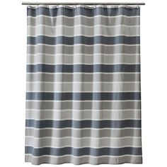 Threshold� Seersucker Shower Curtain - Gray