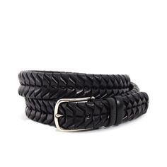 Cinturón trenzado vaqueta - Productos - itmen® #businesscasual #neotradicional