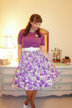 the soubrette brunette: Lilacs and daisies