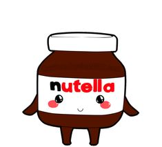 Watch and share Chocolate, Food, And Nutella Image animated stickers on Gfycat No Bake Nutella Cheesecake, Nutella Mug Cake, Nutella Hot Chocolate, Chocolate Croissant, Chocolate Food, Easy Halloween Food, Halloween Desserts, Smileys, Tostadas