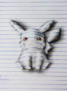 Desenhos criativos em 3D (5)