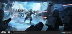 ArtStation - ILM Art Department Challenge - The Job - Part 1 - Keyframe 1, Lap…