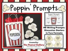 Your students' writing will POP with these popcorn theme writing prompts! The pack Four different sizes in popcorn container labels. Writing Strategies, Writing Activities, Writing Prompts, Writing Ideas, Teaching Strategies, Hollywood Theme Classroom, Classroom Themes, Movie Classroom, Student Teaching