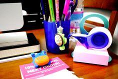 Sulla scrivania di Maria Elena