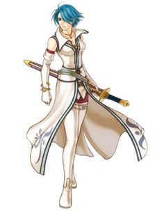"""Lucia from """"Fire Emblem"""""""