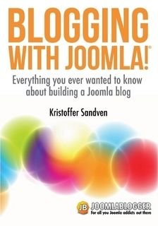 """Buy """"Blogging with Joomla"""" as a printed paperback (287 pages)."""