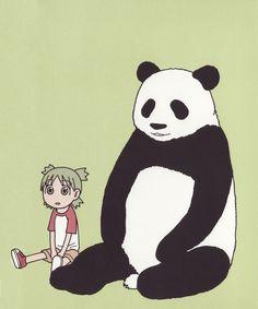 Yotsuba & panda.. I love that face!!