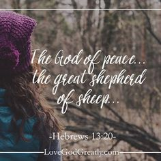 Living for God: The God of Peace