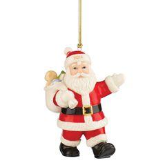 Amazon.com - Lenox 2014 Special Delivery Santa Ornament