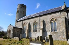 St Mary's Saxon Round-Tower Church, Haddiscoe, Norfolk