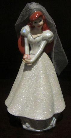 RARE Disney Princess Ariel The Little Mermaid Ceramic Porcelain Figure Figurine   eBay