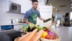 Alimentos utilzados en el encuentro de gastronomía ecológica de Ecovalia.