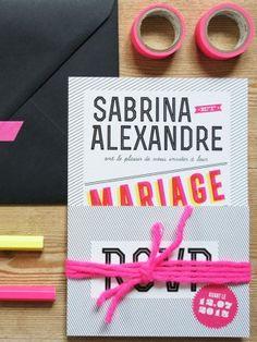 1x1.trans Sabrina + Alexs Modern and Graphic Wedding Invitations