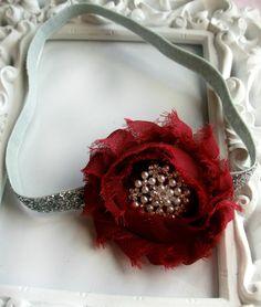 Christmas Headband by Tiny Tulip Boutique