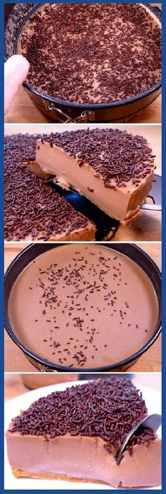 Ya Me Súper Encantó la Tarta de Chocolate Sin Horno más fácil y rica de hacer del mundo. #tartadechocolate #sinhorno #facil #postre #delmundo #chocolatelovers #tips #cake #pan #panfrances #panettone #panes #pantone #pan #recetas #recipe #casero #torta #tartas #pastel #nestlecocina #bizcocho #bizcochuelo #tasty #cocina #chocolate Si te gusta dinos HOLA y dale a Me Gusta MIREN...