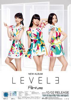 Perfume LEVEL3 Poster