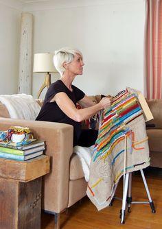 Karen Bertelsen Diy Rug Hooking Stand Frames Wool
