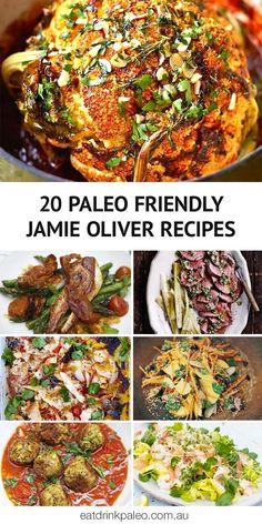20 Paleo Friendly & Gluten-Free Jamie Oliver Recipes