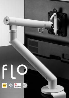 a cbs flo monitor brazo desk abrazadera nuevo en caja blanco Dual Monitor, Desk Pad, Robot Arm, Medical Design, Desk Setup, Mechanical Design, Machine Design, Industrial Design, Design Elements