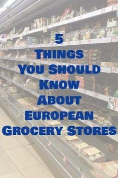 Foodie travel: 5 Things You Should Know About European Grocery St. Europe Travel Tips, European Travel, Travel Advice, Asia Travel, Travel Destinations, Travel Ideas, Travel Hacks, Budget Travel, Packing For Europe