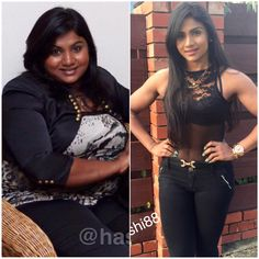 Harshi Suraweera Lost 42KGS In 10 Months & Her Own Mother Didn't Recognise Her!
