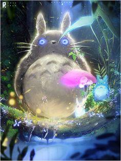 Totoro : YouTube! by rossdraws.deviantart.com on @DeviantArt