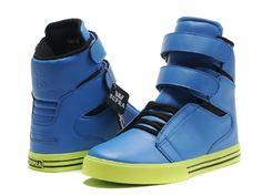 Supra TK Society For Justin Bieber Blue/Lime Green $55.98