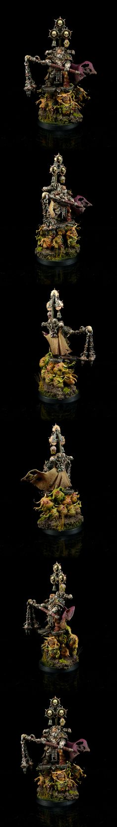 Death Guard Chaos Lord of Nurgle